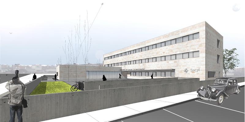 Centro de salud valladolid antonio paniagua estudio - Estudio arquitectura valladolid ...