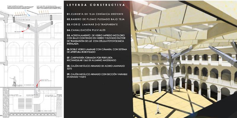 Patio hospeder a san benito valladolid antonio paniagua - Estudio arquitectura valladolid ...