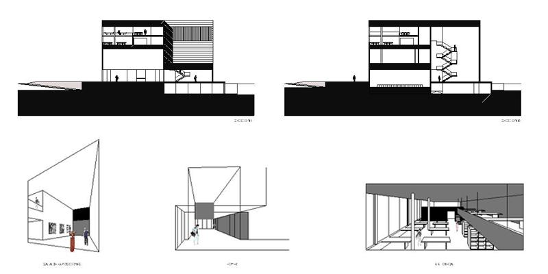 Casa de cultura la cist rniga antonio paniagua - Estudio arquitectura valladolid ...