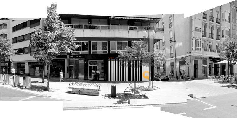 Oficina caja de arquitectos valladolid antonio paniagua estudio de arquitectura - Arquitectos en valladolid ...